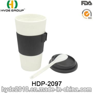 Nouvelle tasse de café en plastique qui respecte l'environnement de ventes chaudes de conception (HDP-3000)