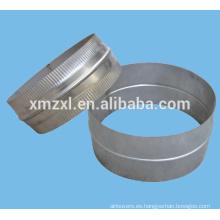 Conducto de acoplamiento espiral par/conductos accesorios
