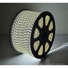 100m / 50m Décoration extérieure Hot sale best price LED strip 110V 220V CE imperméable à l'eau ip65 smd5050 led led strip led