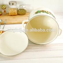 Olla de cocción de revestimiento de esmalte de estilo chino