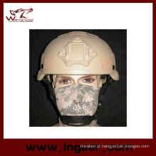 Capacete Mich de 2002 com Nvg Mount & lado trilho capacete de segurança