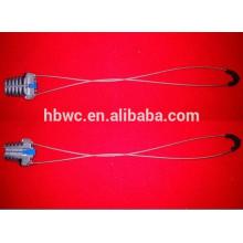 grampo de ancoragem para fixação do cabo