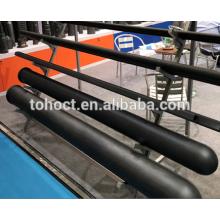 Un extremo cerró el tubo de cerámica del carburo de silicio Si3N4 de cerámica SSIC / RBSIC / SISIC de cerámica