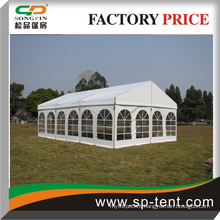 PVC wedding party tent with transparent windows or floor