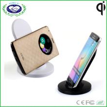 Горячий продавать заряжатель телефона держателя заряжателя 3 катушек Qi беспроволочный беспроволочный