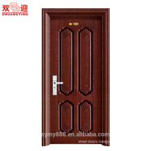 Anti-theft Single Leaf Iron Steel Metal Door Hot-rolled steel/Galvanized Steel Entry Door