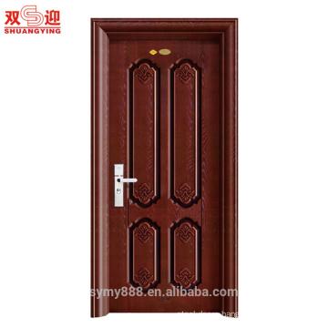 Anti-theft Single Leaf Iron Steel Metal Door Hot-rolled steel/Galvanized Steel Entry Door