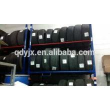 ruedas de neumático con cierre para fácil maniobra y seguro rack de apilamiento de almacenamiento