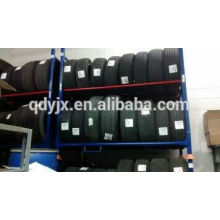 lockable tyre wheels for easy maneuvering and secure storage stacking rack