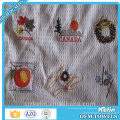 waffle embroidery kitchen cotton towel