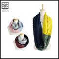 Lenço de confecção de malhas de venda de moda quente infinidade moda para mulheres