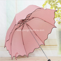 Promotional Falbala Folding Umbrella