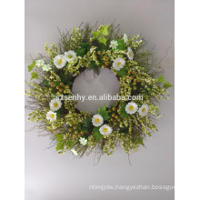 Artificial Lavender Wreath For Everyday Decorating