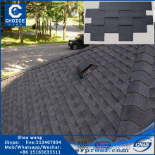 5 tab asphalt shingle for  roof  shape complex