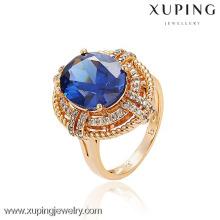 13044 Xuping Big Stone Ring Jewellery Fashion Finger Ring