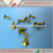 Productos de venta por mayor china cabeza plana superior grado zincado tornillo del conglomerado