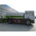 camión tanque de agua potable de material de acero inoxidable