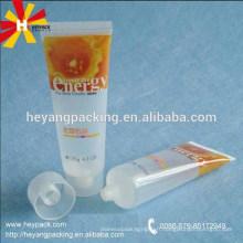 Emballage de tubes cosmétiques en plastique transparent