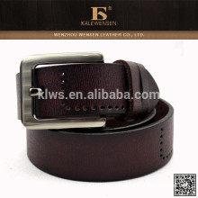 2015 Cinturones genuinos de moda del mens del lether