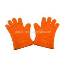 Bester Verkauf Hitzebeständiger guter Grad Silikon-Handschuh für das Kochen und das Backen