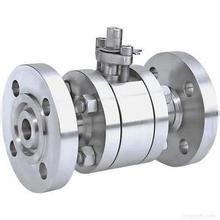 800lb-2500lb flangeou 3 PCS forjou a válvula de esfera de flutuação (Q41F / N / PEEK)