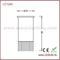 Mini 1W de aluminio empotrado LED luz del gabinete LC7265
