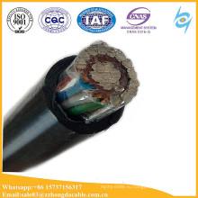 2x6mm2 10мм2 16мм2 воздушной концентрический кабель с кабель связи