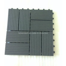 Carreaux de plancher de l'interlock de conception de jardin de haute densité WPC DIY