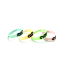 Promotional Figured Printed Silicone Wristbands-Junior