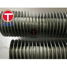 Air Fin Cooler Finned Copper spiral fin tube