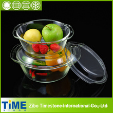 De alta calidad de vidrio de borosilicato cazuela Set (TM8011)