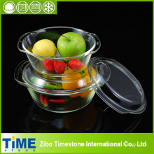 High Quality Borosilicate Glass Casserole Set (TM8011)