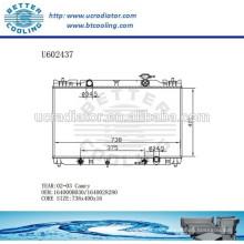 Radiador Para TOYOTA CAMRY 02-03 Aluminio 164000H030 / 1640028280 Fabricante y Venta Directa