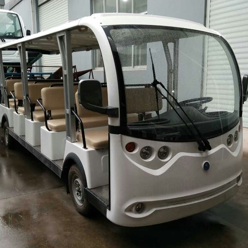23 seats gas powered shuttle bus