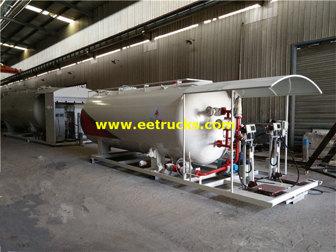 6ton Mobile Propane Skid Plants