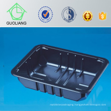 Wholesale Custom Black Plastic Fresh Fruit Packaging Tray