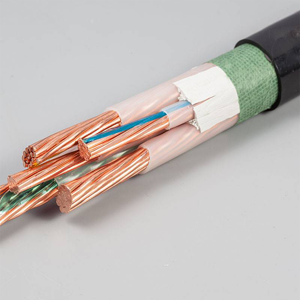Antiflaming Xlpe Insulated Shielded Power Cables