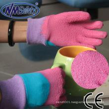 NMSAFETY kids children garden latex gloves
