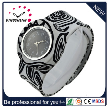 Waterproof Quartz Silicone Twist Watches for Kids Adults (DC-1353)