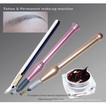 Couleur permanente de tatouage de maquillage de Goochie pour le stylo manuel