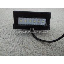 Lámpara de placa número para carro Universal remolque matrícula