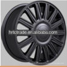 Черные мульти спицы хромовые диски сплава для продажи