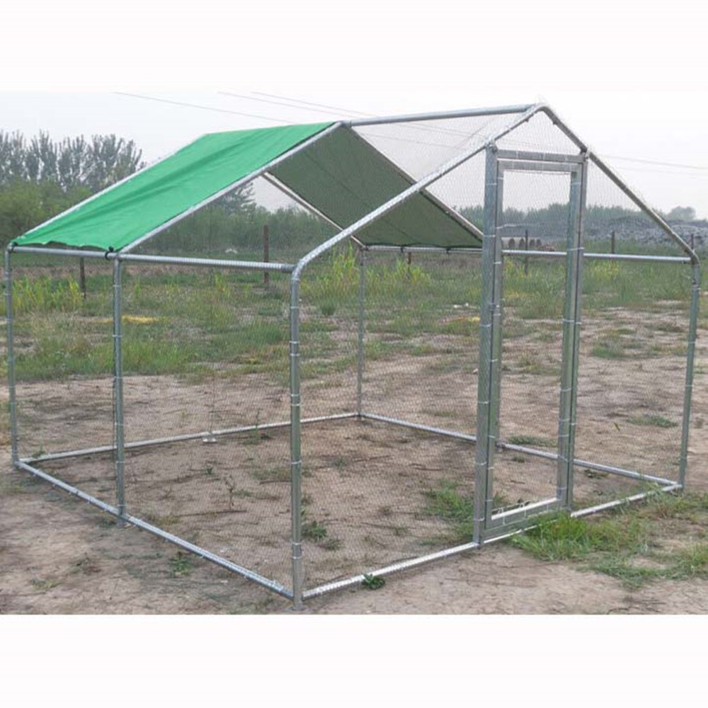 China cheap metal chicken coop mobile for sale manufacturers for Cheap metal houses