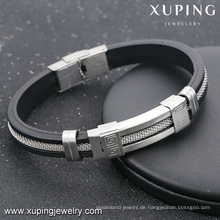 armband-13-xuping mode stahl männer schmuck herren handmake armbänder