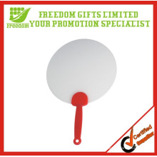 Fã plástico relativo à promoção impresso logotipo personalizado