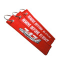 Custom Embroidery Keychain with High Quality Factory Price