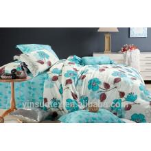 Conjunto de edredón de cachemira de edredón de lujo de cama, textiles shijiazhuang