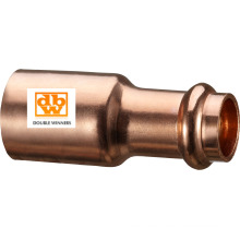 Copper V Profile Fitting Reducer, From 15 X 12mm to 108 X 76mm