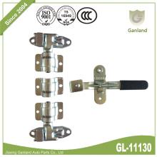A came de aço trava o punho forjado do punho da torção do hardware