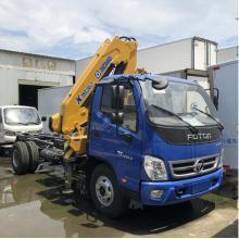 4x2 Foton Aumark Articulated Hydraulic crane 5-ton